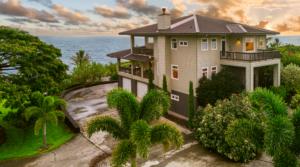 Hakalau Ocean Bluff Home