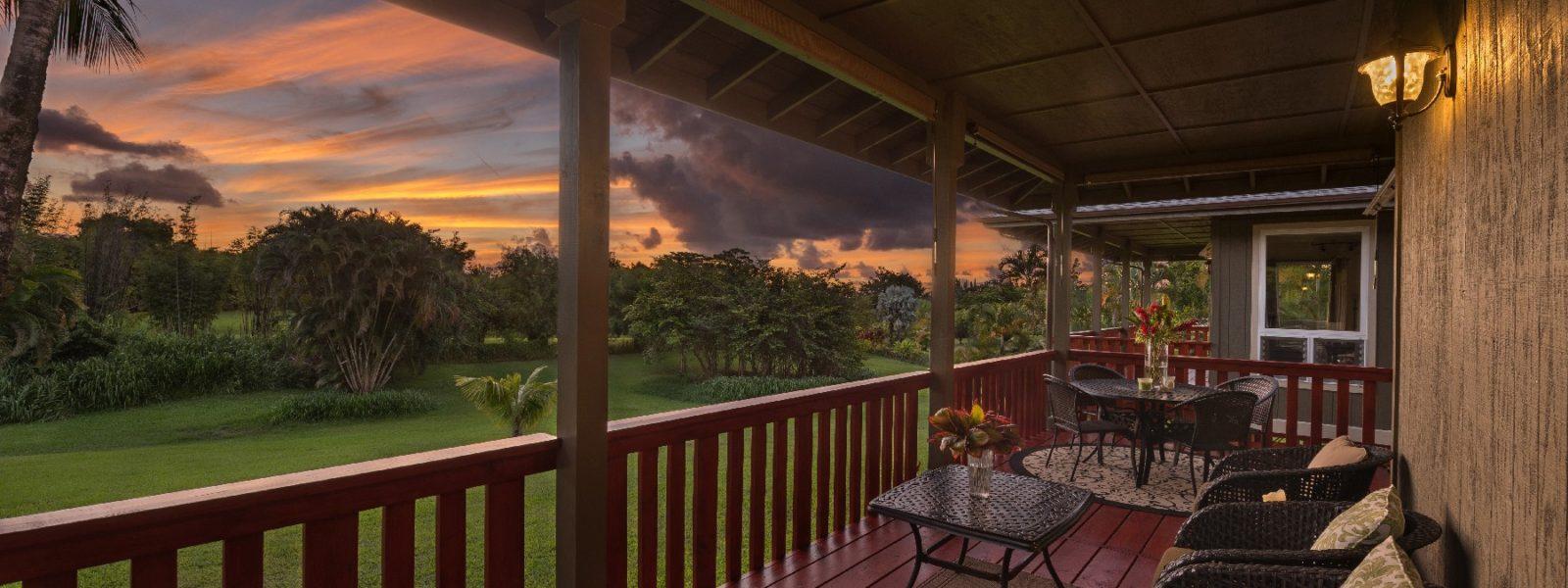 Beautiful Mountain View Compound in Kalihiwai, Kilauea