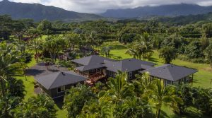 Beautiful Mountain View Compound in Kalihiwai, Kilauea